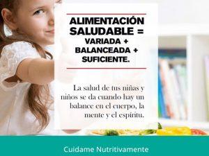 Campaña de Proyección Social Prevengamos la Obesidad Infantil