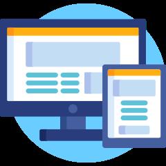 Desarrollo Web, ofrecemos una interfaz responsive.