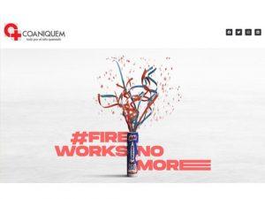 Comdigital - Desarrollo Web Entregado, Landing page Evento Seminario #FireWorksnomore