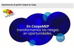 Comdigital - Desarollo Web Entregado, cliente Coopemep