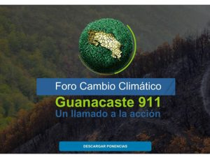 Comdigital - Desarollo Web Entregado, Evento Guanacaste 911, Foro Cambio Climático
