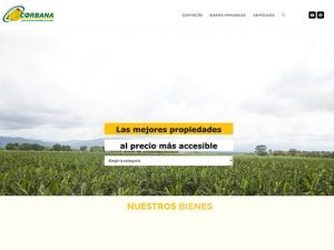 Comdigital - Desarollo Web Entregado, Bienes Corbana.co.cr