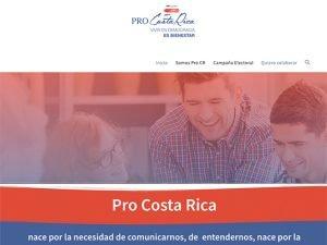 Desarrollo Web, Proyecto Entregado ProCostaRica